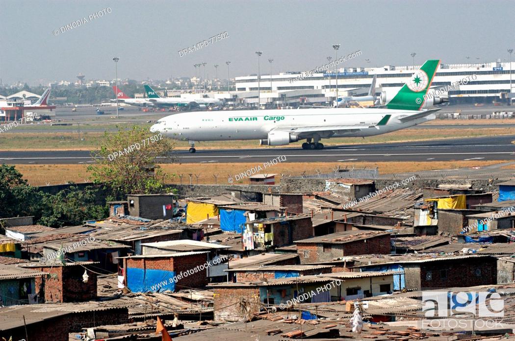 An Air India plane standing at the Chhatrapati Shivaji