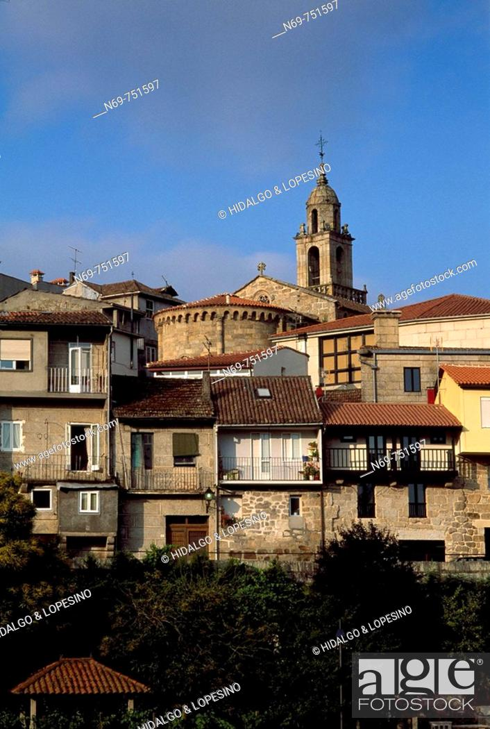 Stock Photo: Jewish quarter. Ribadavia. Ourense province. Galicia. Spain.
