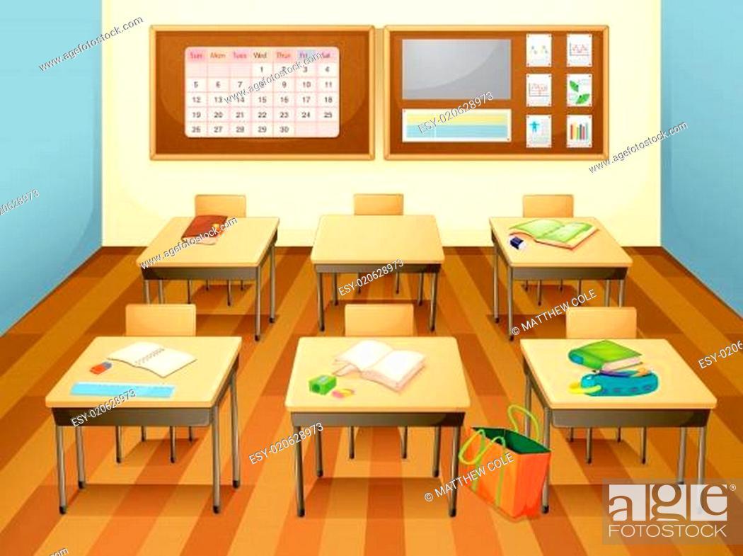 Photo de stock: Classroom.