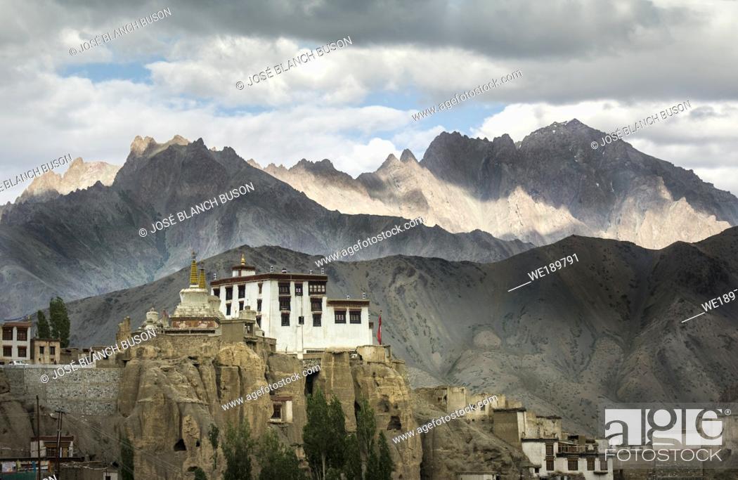 Stock Photo: Lamayuru Monastery, Indus Valley, Ladak.
