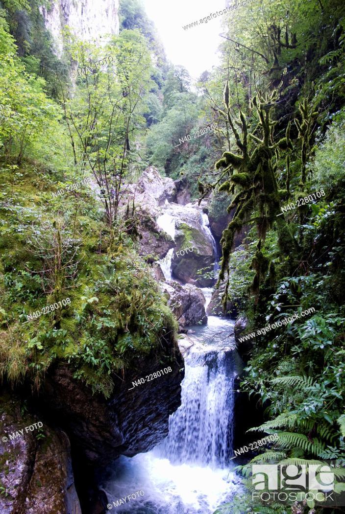 Stock Photo: Gorges de Kakoetta.