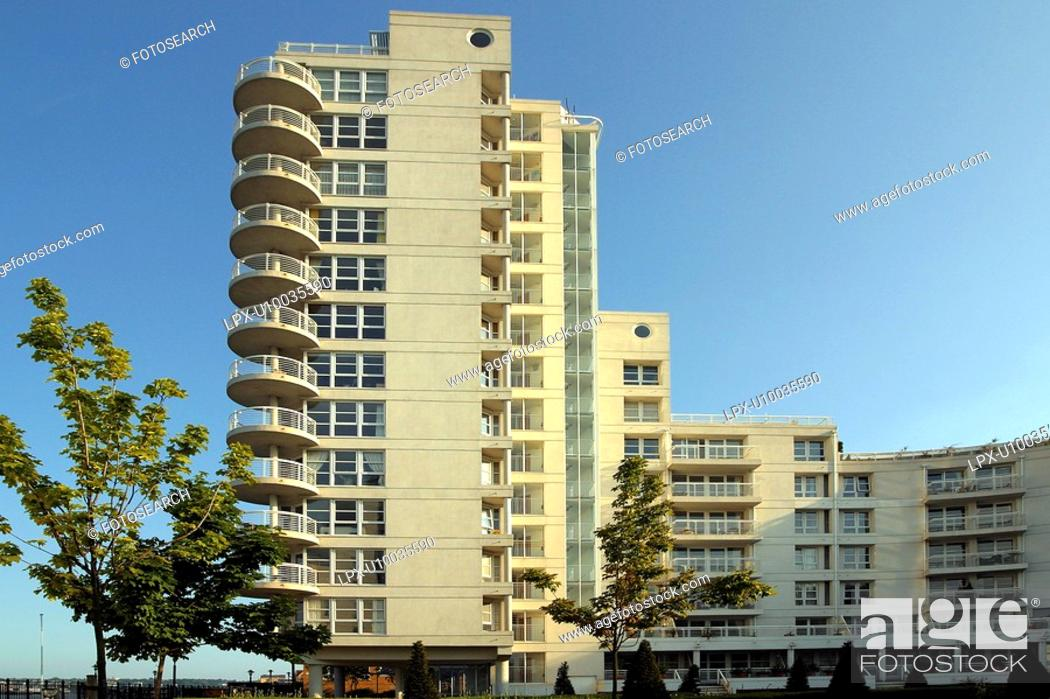 Stock Photo: Property development, residential housing.