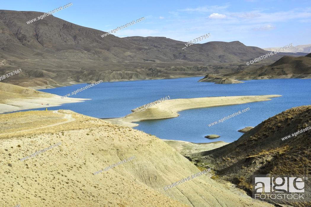 Stock Photo: Iran, West Azerbaijan province, Maku region, Baron lake.
