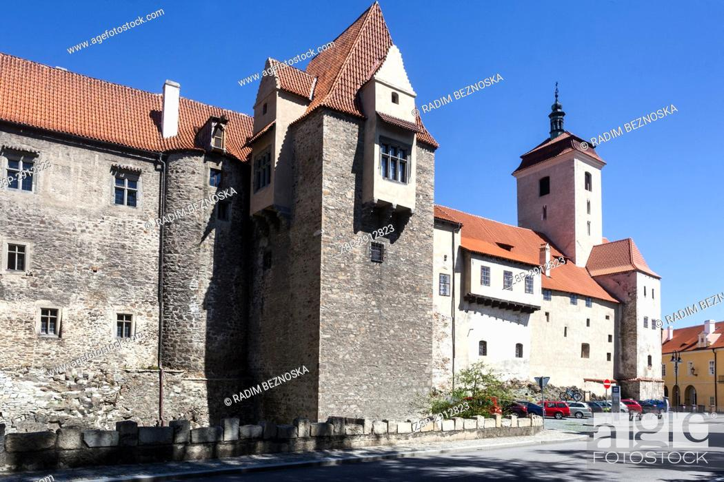 Imagen: Strakonice, South Bohemia, Czech Republic, Medieval Gothic Castle, .