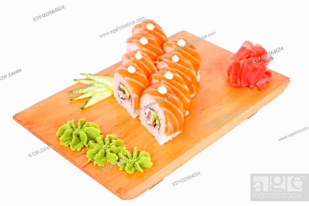 Imagen: Surprisingly tasty delicious sushi.