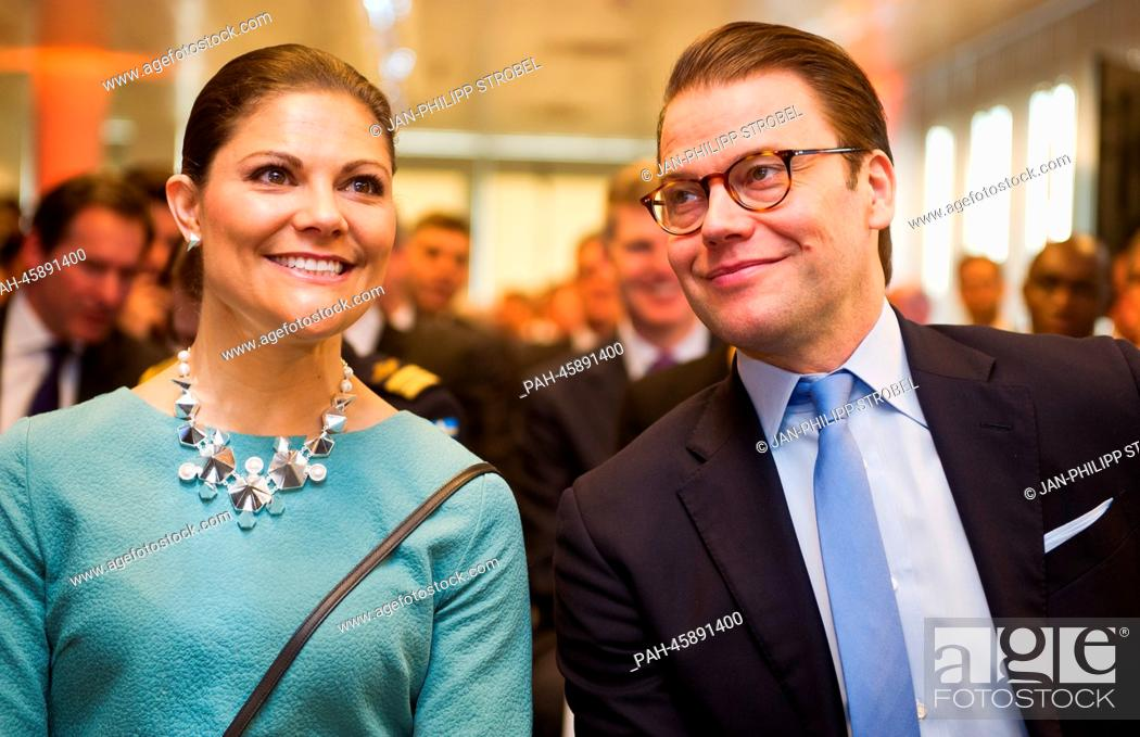 Sweden's Crown Princess Victoria and Prince Daniel during their