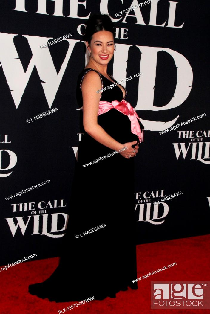 """Stock Photo: Cara Gee 02/13/2020 The World Premiere of """"""""The Call of the Wild"""""""" held at The El Capitan Theatre in Los Angeles, CA. Photo by I."""