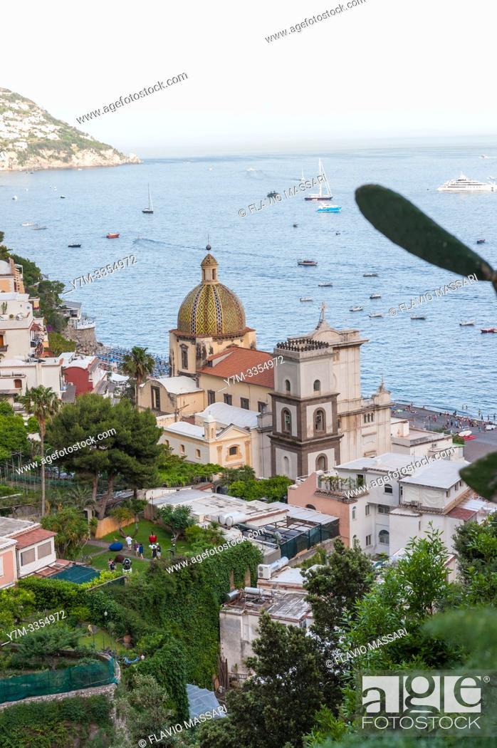 Stock Photo: Amalfi Coast: Positano (Salerno).