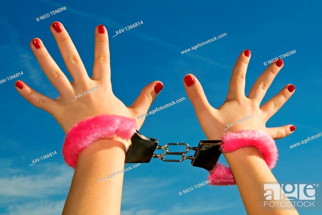 Photo de stock: Love handcuff, M R.