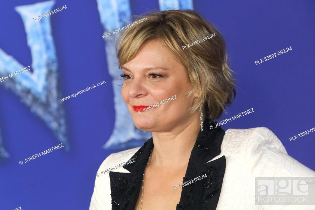 "Stock Photo: Martha Plimpton at Disney's """"Frozen II"""" World Premiere held at the Dolby Theatre in Hollywood, CA, November 7, 2019. Photo Credit: Joseph Martinez /."