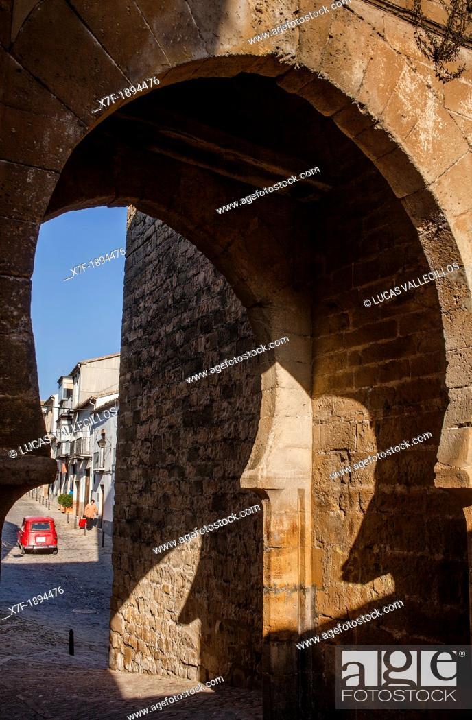 Stock Photo: Puerta del Losal, Losal gate  Úbeda  Jaén province  Spain.
