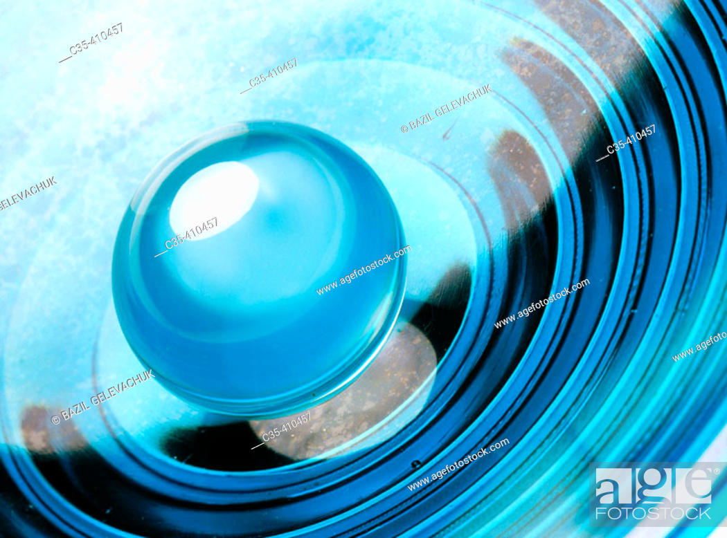 Stock Photo: Spheres from mountain crystal.