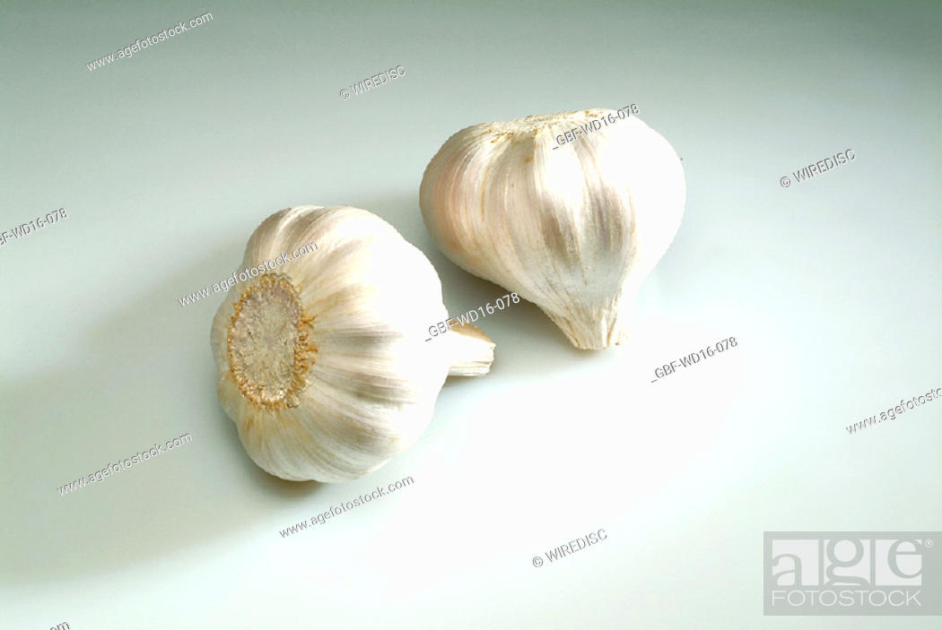 Stock Photo: Food, vegetables, garlic.