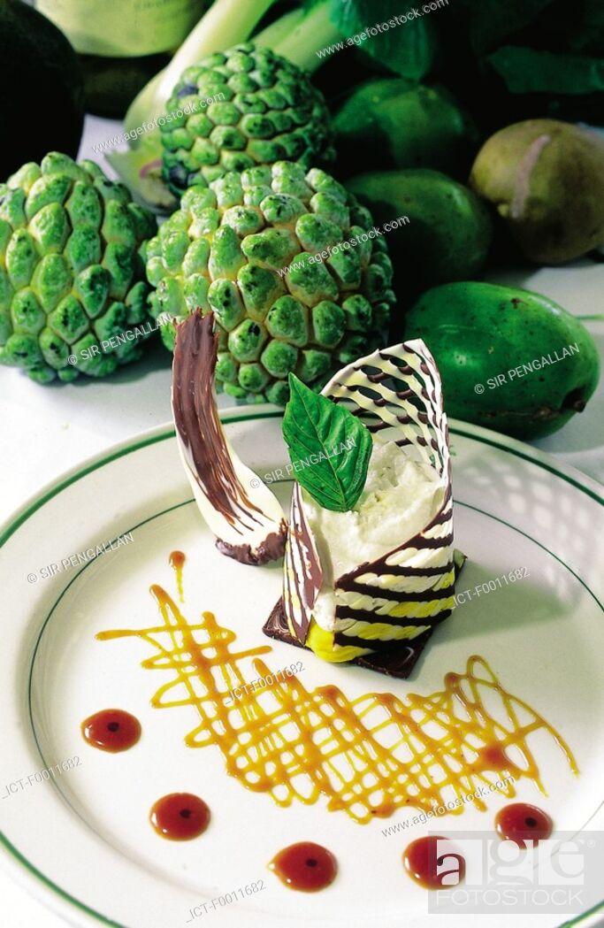 Stock Photo: Jamaica, Montego Bay, local gastronomy, dessert.