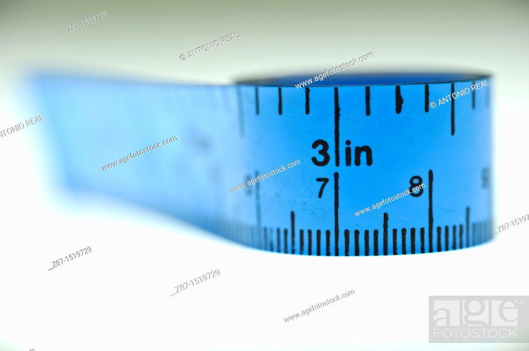 Stock Photo: Tape measure.
