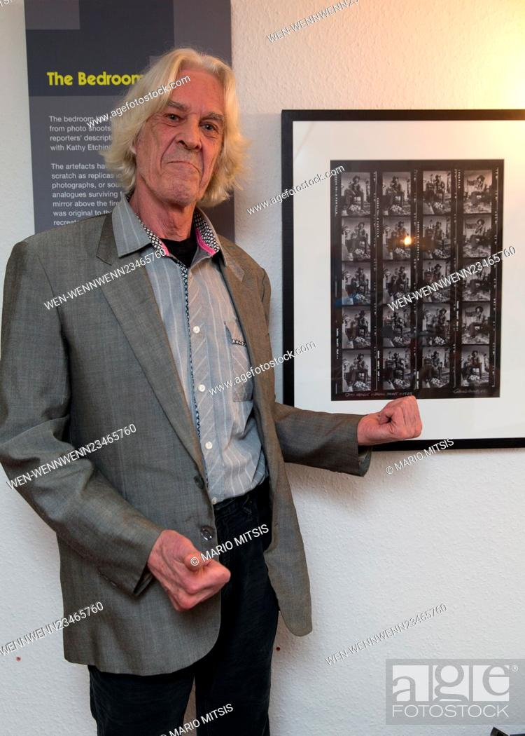 Photo de stock: Barrie Wentzel, the photographer that took the iconic photos of Jimi Hendrix, these photos were used to reconstruct the exhibition space to the authentic look.