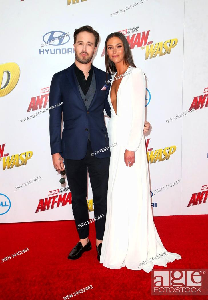 Premiere Of Disney And Marvel S Ant Man And The Wasp Featuring Gabriel Ferrari Stock Photo Picture And Rights Managed Image Pic Wen 34452463 Agefotostock