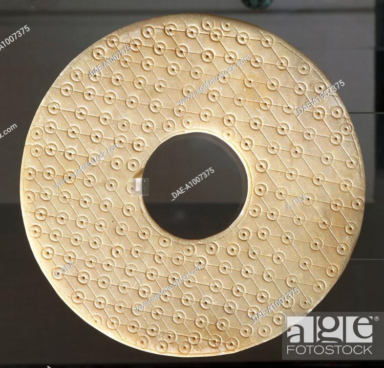 Bi Type Disc Symbol Of Heaven China Chinese Civilisation Qin