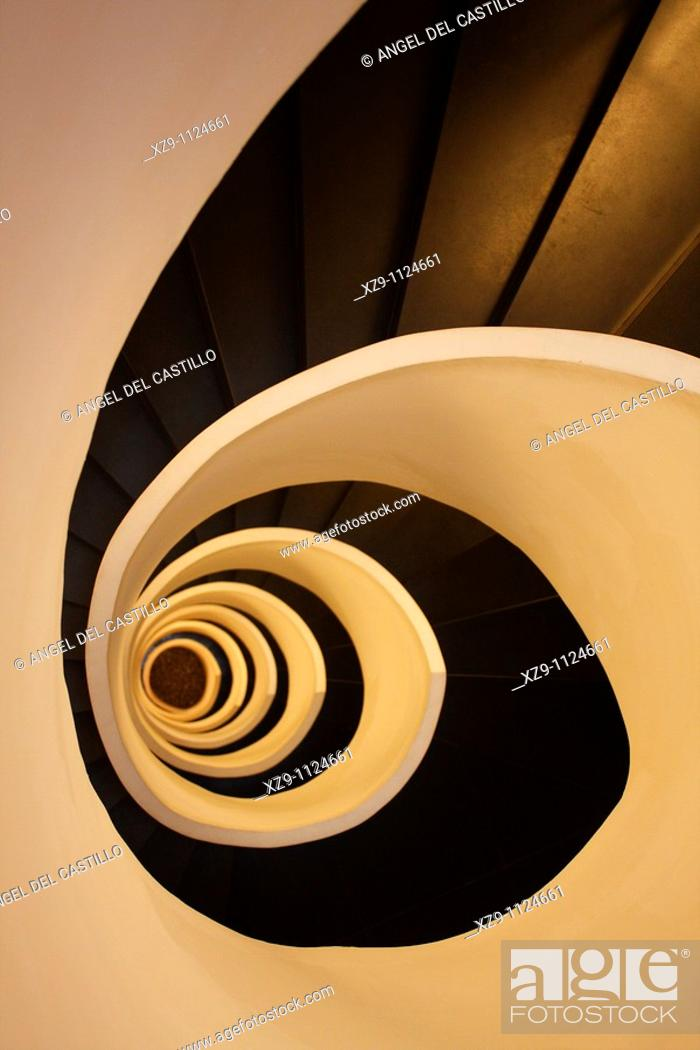 Stock Photo: Stairs in spiral form.