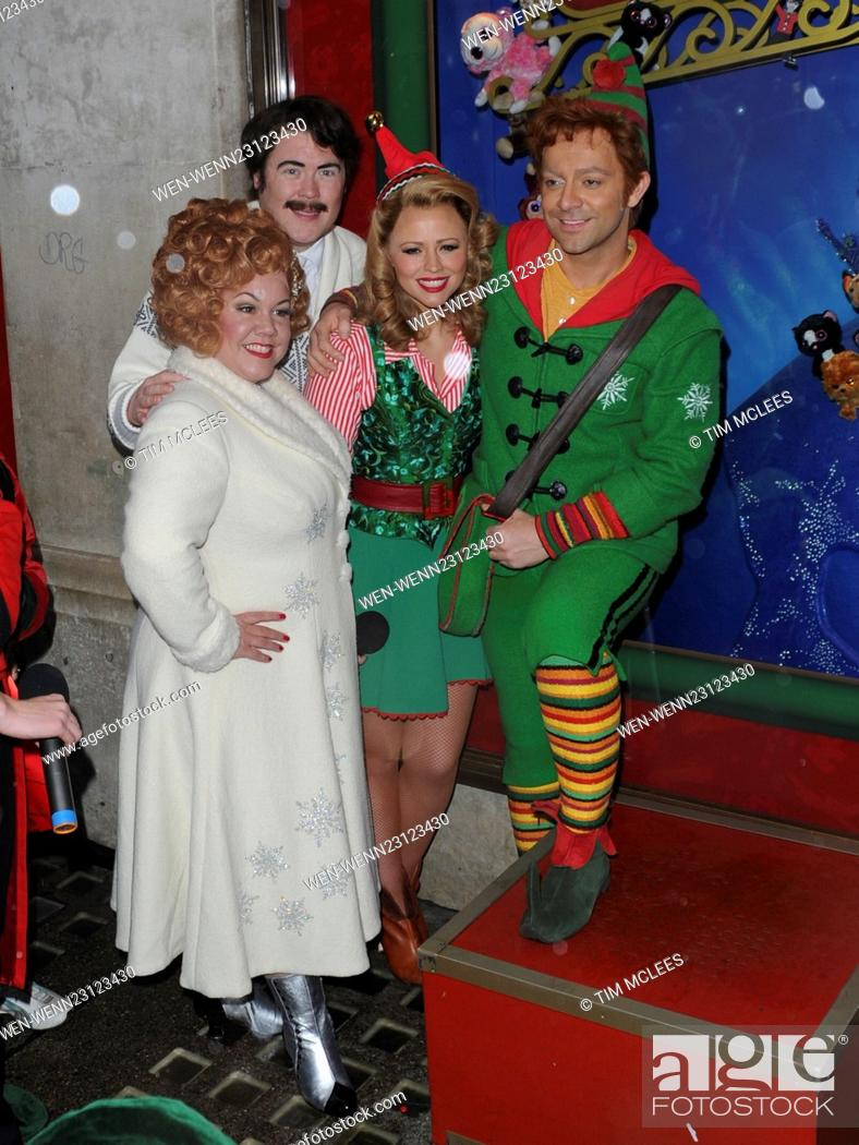 Christmas With A View Cast.Hamley S Unveils Christmas Windows With Elf Cast Featuring