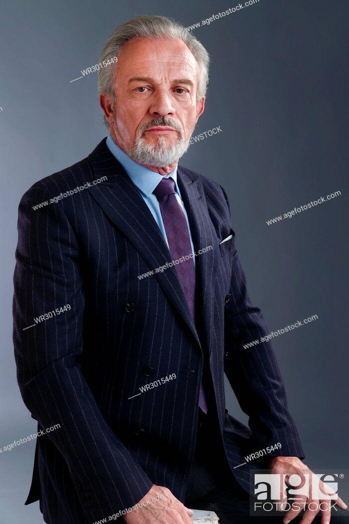 Imagen: Authoritative business elderly men.