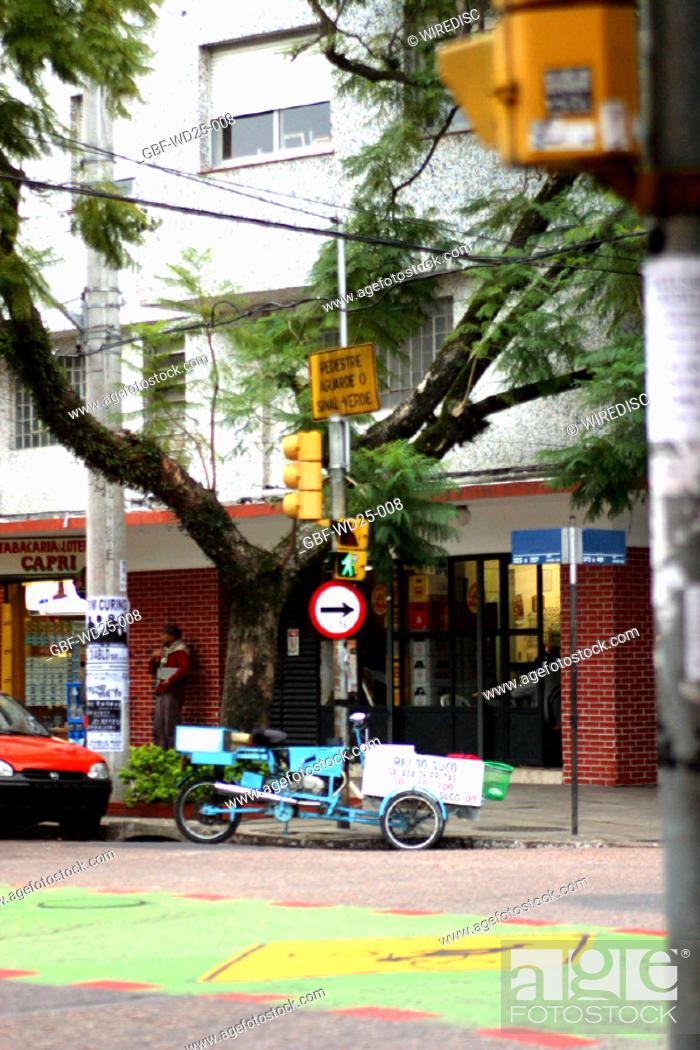 Stock Photo: Transport, street, corner.