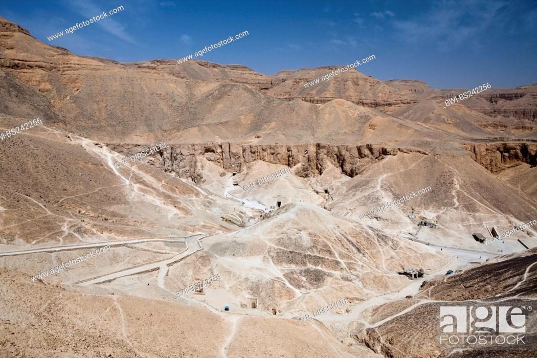 Stock Photo: Valley of the Kings, Egypt, Luxor.
