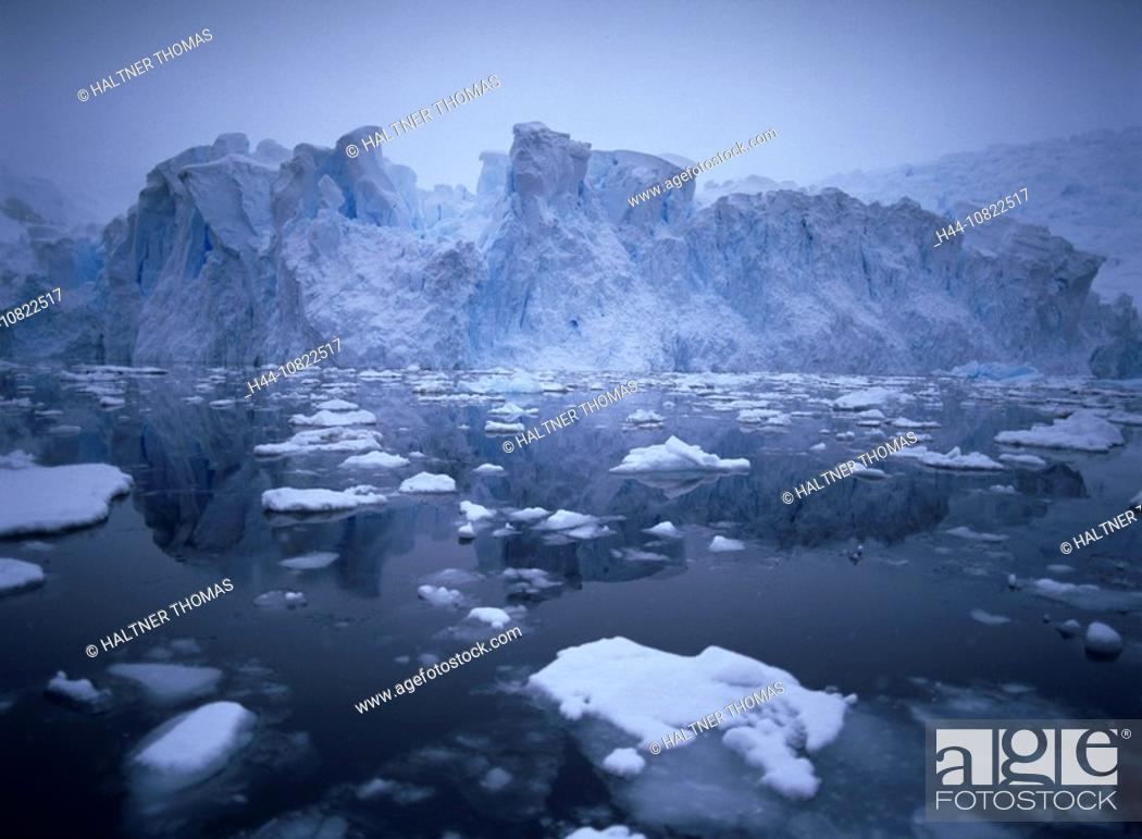 Imagen: glaciers, demolition, abort, calvings, sea, ice, scenery, landscape, Antarctic, Antarctic, Antarctic Ocean, cruise, Pa.