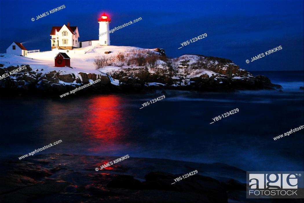Imagen: Twilight, Nubble Lighthouse.