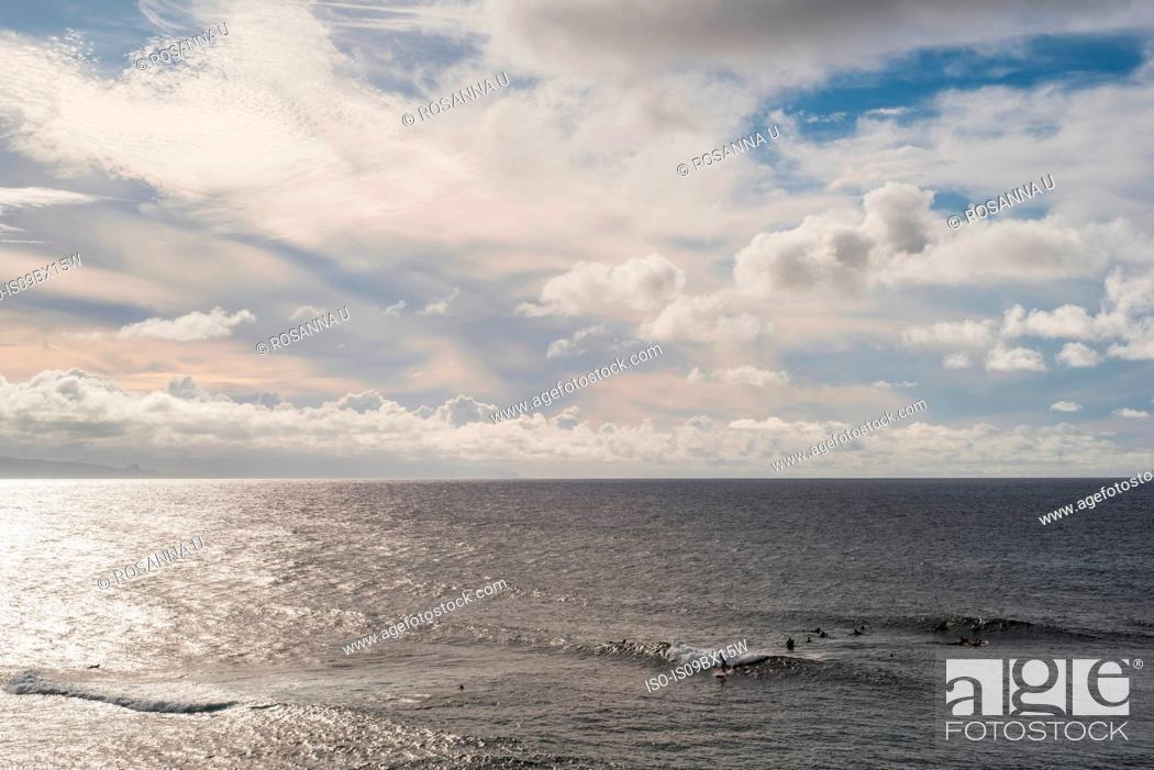 Stock Photo: Hookipa Beach, Maui, Hawaii.