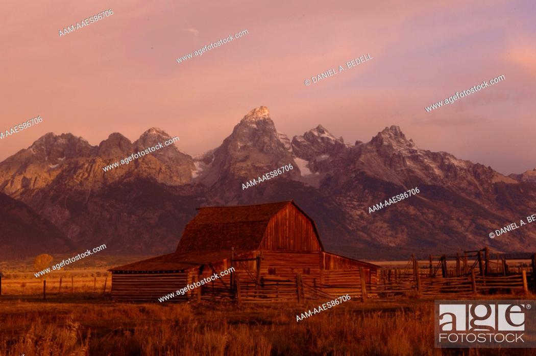 Stock Photo: Grand Teton National Park, September, digital capture.