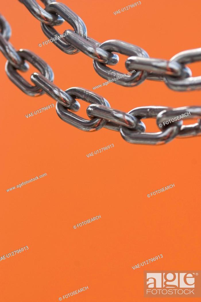 Stock Photo: industrial, metal, detail, metallic, steel, shine.