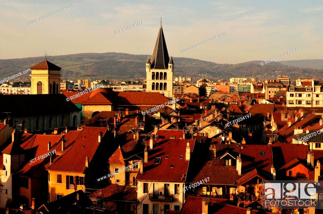 Stock Photo: France, Alps, Annecy.