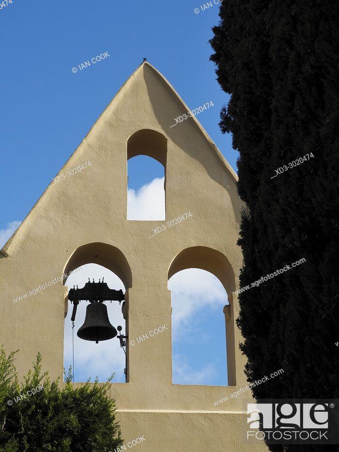 Stock Photo: Saint-Jean Baptiste Church, Iffour, Lot-et-Garonne Department, Aquitaine, France.
