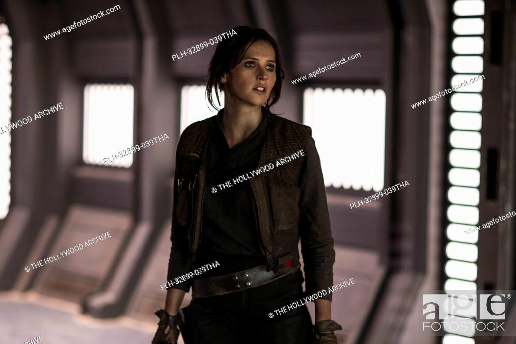 Stock Photo: Felicity Jones in Rogue One: A Star Wars Story (2016) © 2016 - Lucasfilm Ltd. All Rights Reserved.