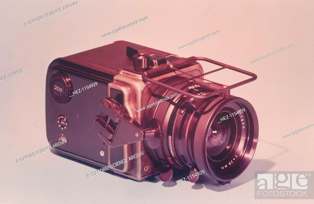 Hasselblad Lunar Surface Camera, 1969  This camera, a