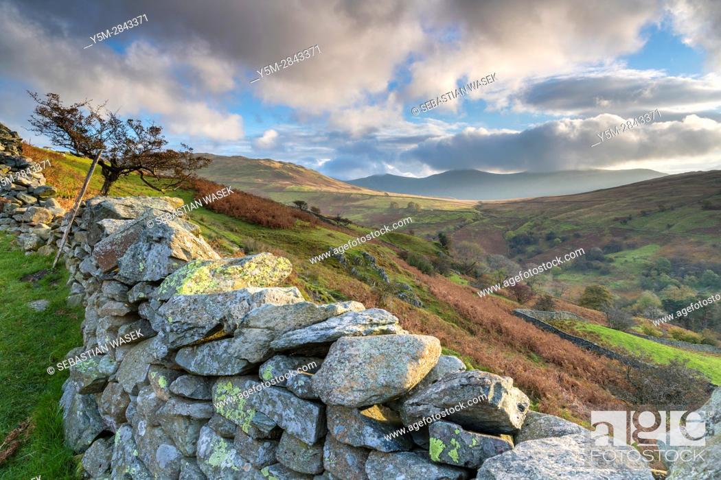 Stock Photo: Kirkstone Pass, Lake District National Park, Cumbria, England, United Kingdom, Europe.