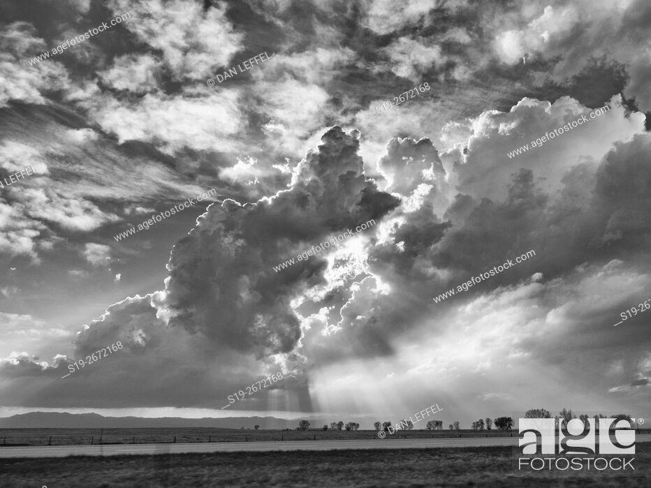 Stock Photo: Severe Storms Over Kansas.