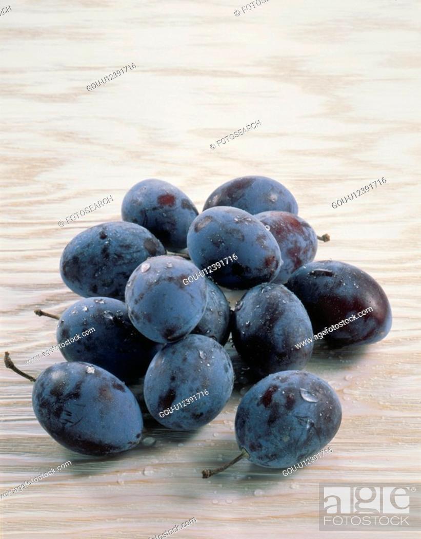 Stock Photo: Prune.