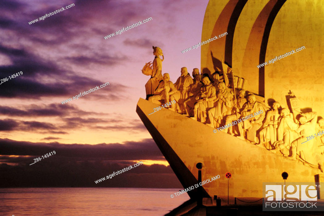 Stock Photo: Monument to the Discoveries. Lisbon. Portugal.