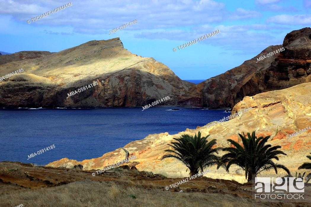 Imagen: Madeira, at the Cap Ponta de Sao Lourenco, scenery at the eastern end of the island.