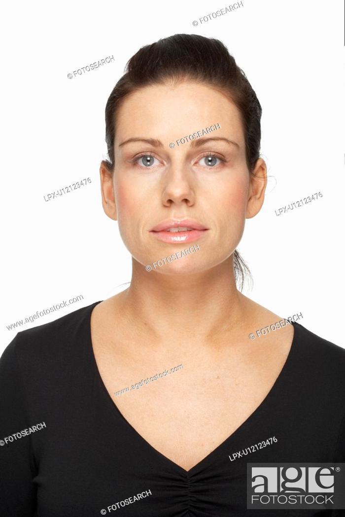 Stock Photo: Mid adult woman, portrait.