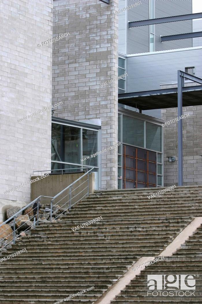 Stock Photo: path, architecture, style, steps, ascending, descending.