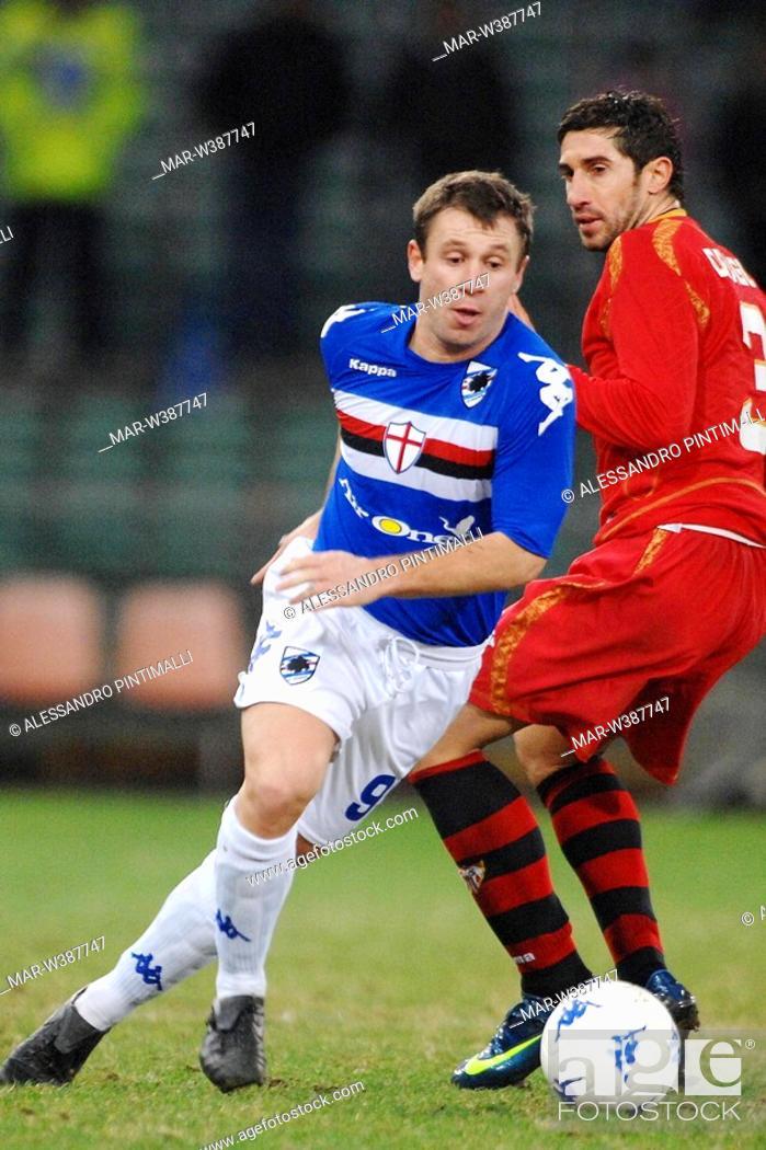 Stock Photo: antonio cassano,genova 18-12-2008 ,football uefa cup 2008-2009 ,sampdoria-siviglia 1-0 ,photo alessandro pintimalli/markanews.