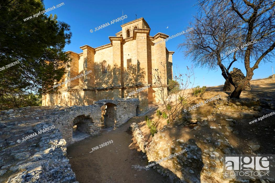 Stock Photo: Iglesia de la Villa, Montefrio, Granada, Andalusia, Spain, Europe.