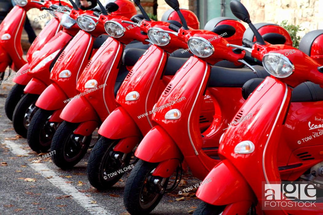 Stock Photo: Radda in Chianti. Tuscany, Italy.