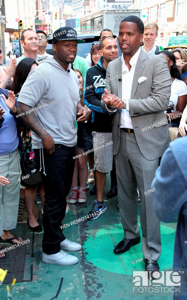 50 Cent promotes his new album 'Animal Ambition' during an