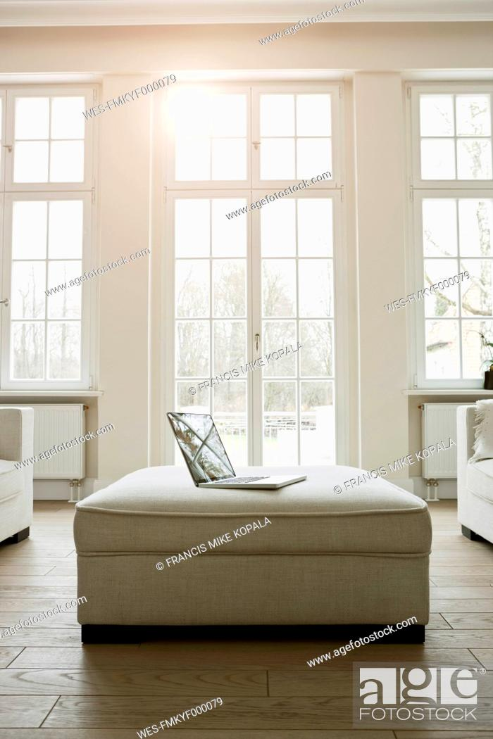 Stock Photo: Germany, Berlin, Modern living room.