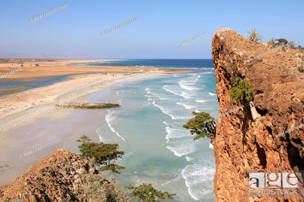 Stock Photo: Soqotra Beaches, Around Hadibou, Soqotra Island, Hadramawt, Yemen.