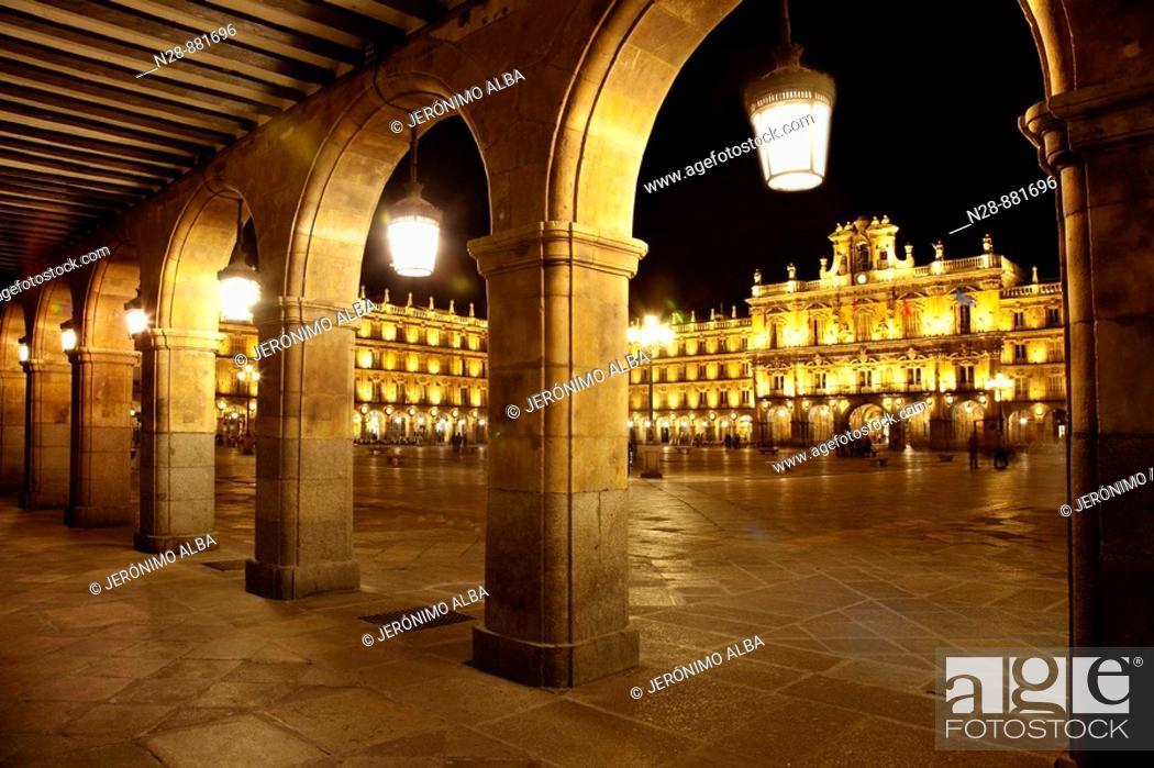 Imagen: Main Square, Salamanca. Castilla-Leon, Spain.